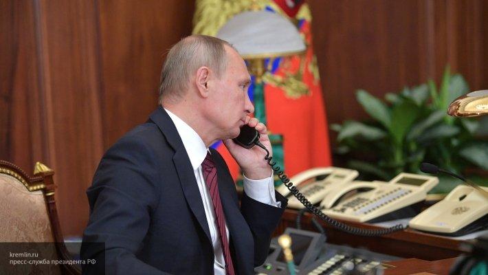 По инициативе США состоялся телефонный разговор Трампа и Путина