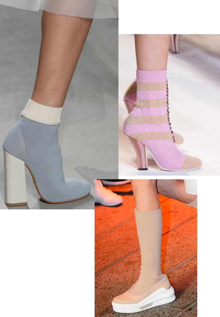 Туфли-носки — главная обувь холодного лета