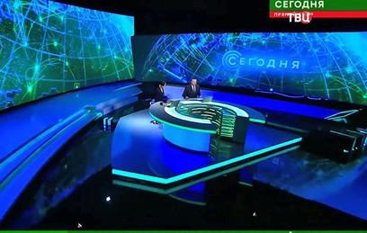 Путин поздравил НТВ с 25-летием