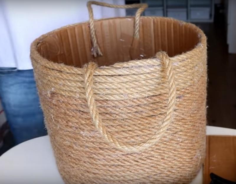 как сделать корзину для мужчин