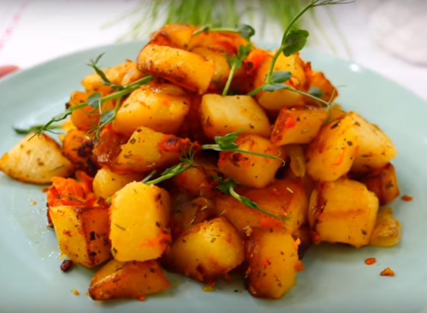 Вкусный и сытный картофель по-особенному