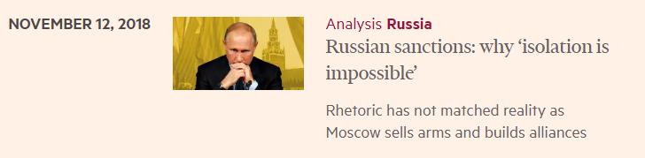 Пятый год санкций и изоляции