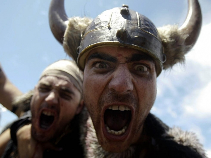 """Набеги викингов на Испанию (""""кровожадный"""" фестиваль)"""