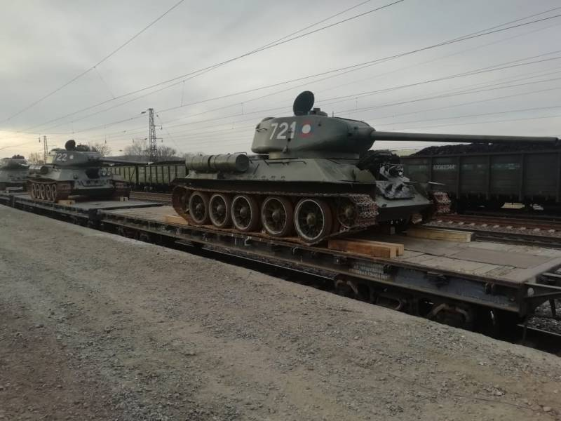 Танки Т-34 в XXI веке
