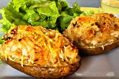 Запеченный картофель в мунди…