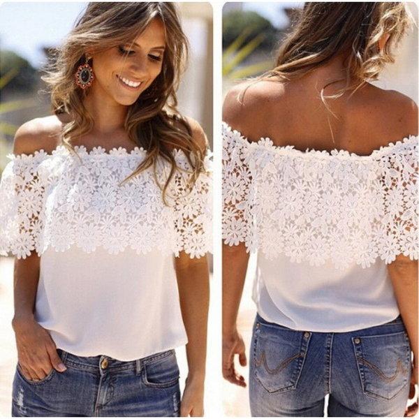 12 сногсшибательных образов с блузой с открытыми плечами
