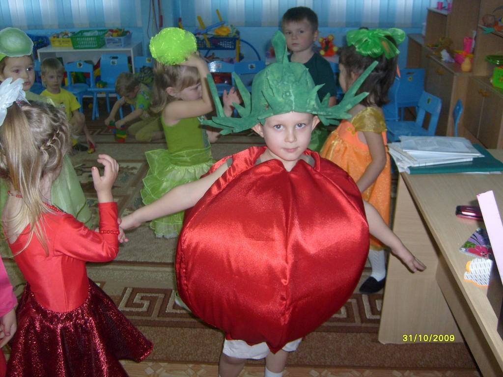 Как сделать костюм помидора