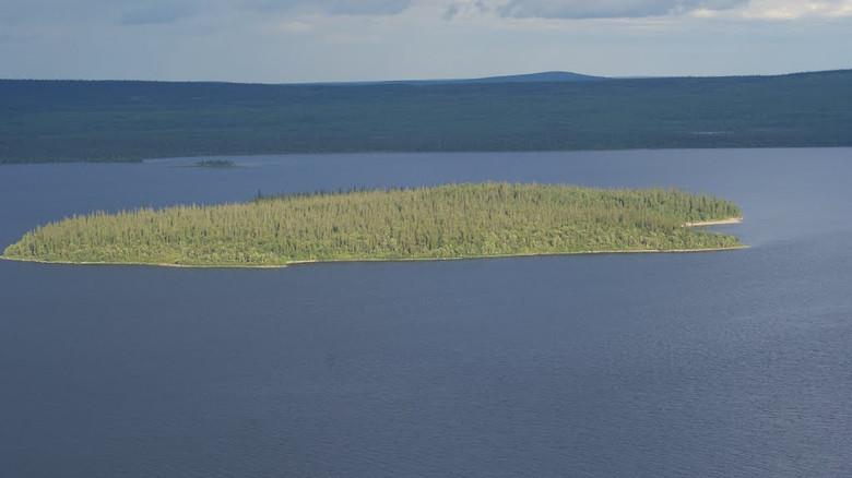 Странное происшествие на острове Колдун (Ловозеро)