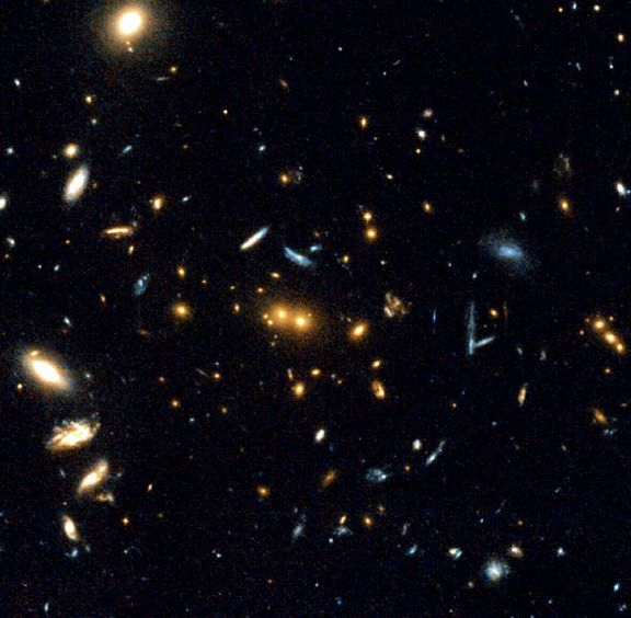 Скопление галактик