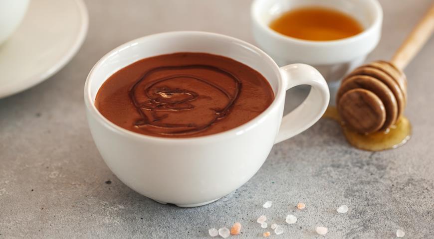 Мексиканский горячий шоколад со специями