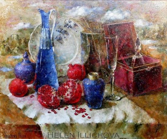 художник Елена Ильичева картины – 33
