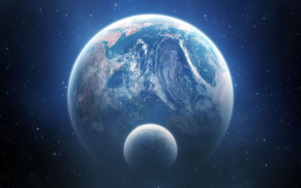Влияние Луны: без Луны Земля пустилась бы вприпрыжку