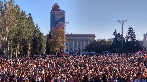 В Донецке наступил «день мира»