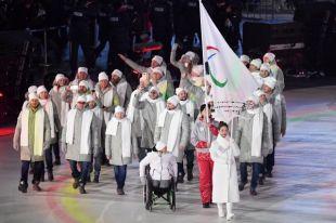 На церемонии открытия Паралимпиады-2018 прошла делегация из 36 россиян