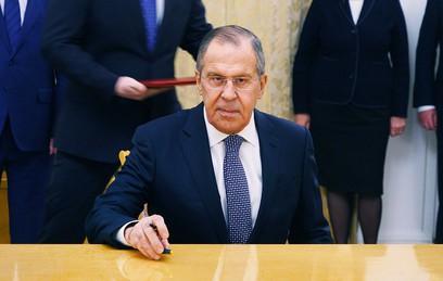 Помпео заявил Лаврову о стремлении США к диалогу