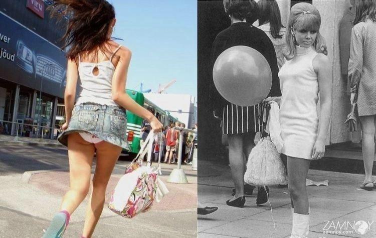 О мини юбках, тенденциях моды и виктимблеймерах.