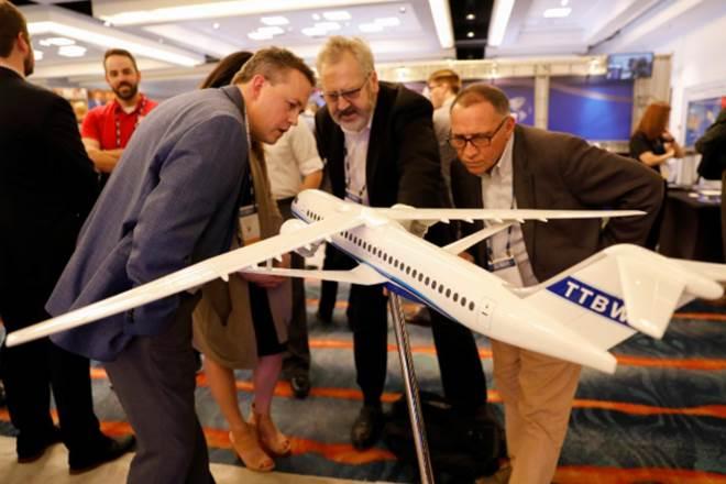 Боинг представил концептуальный самолет с ультратонким крылом