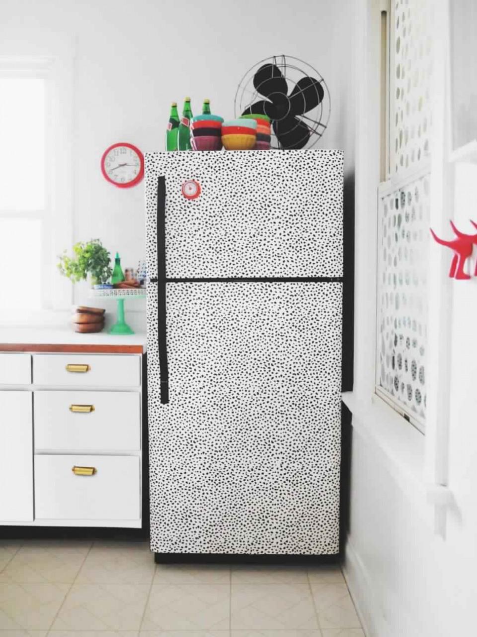 Декора холодильника своими руками