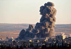 При авиаударах коалиции погибли более 60 мирных жителей Сирии