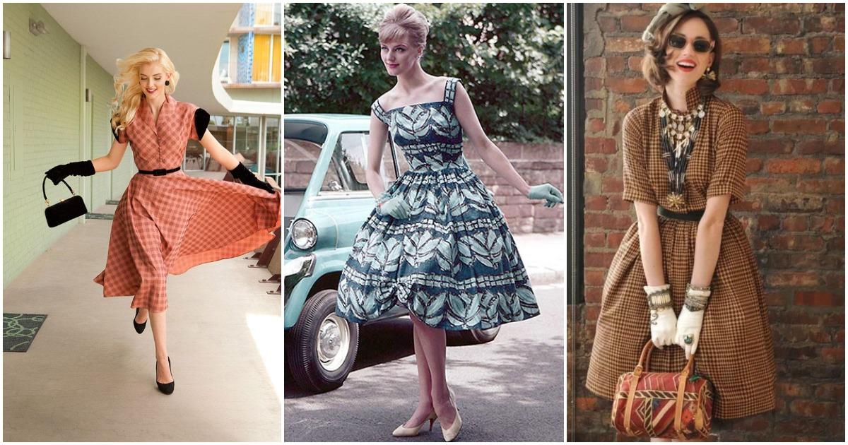 Возвращаемся к основам: винтажная мода (ретро) 30–70-х гг.