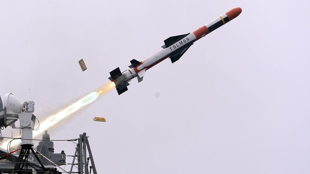 Южнокорейская корабельная ракета для поражения наземных целей