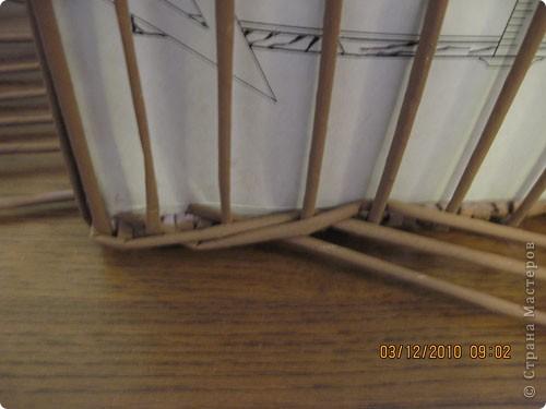 Мастер-класс,  Плетение, : Плетение квадратной (прямоугольной ) коробки Бумага газетная . Фото 21
