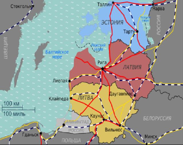РФ ставит крест на «врагах»: ж/д Прибалтики будет ликвидирована