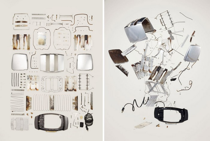 Тостер, проект Things Come Apart от Тодда Маклеллана (Todd McLellan)