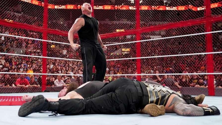 Леснар вернулся в WWE и буде…