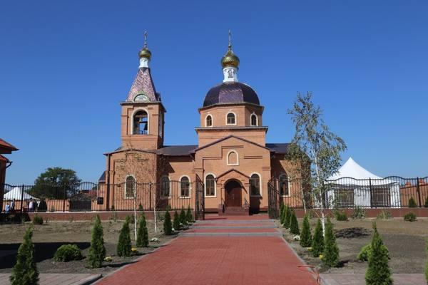 В Чечне появился православный храм в честь св. Варвары