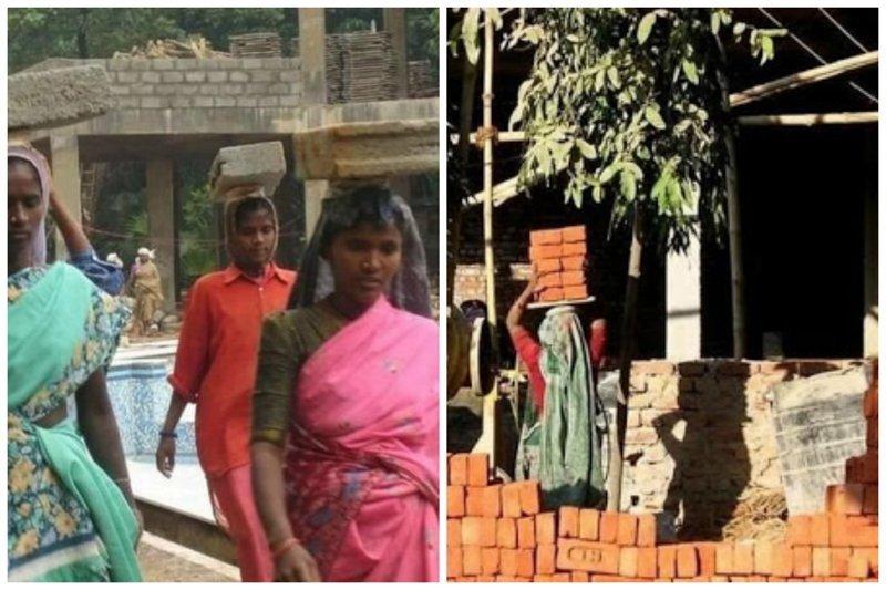 Индия - страна, где женщины способны удержать на голове больше, чем в руках funny foto, индия, интересно, смешно, юмор