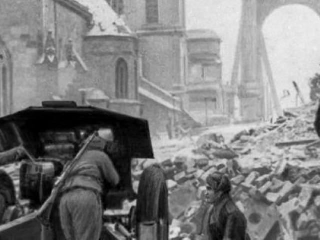 Будапештская наступательная операция 1944-1945 г
