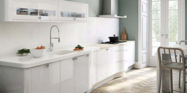 Белые кухни-6