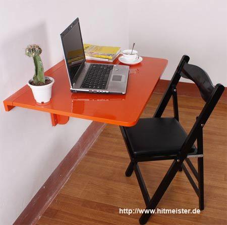 Компактный складной столик с чертежом