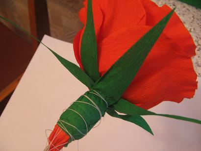 Как сделать зелень из бумаги