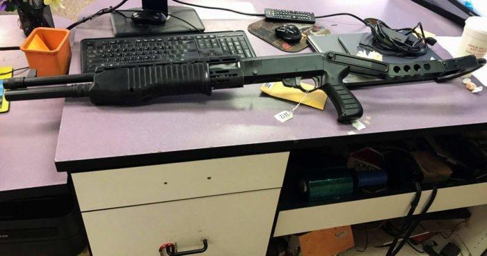 9. Автоматическое ружье Franchi Spas-12 заем, заемщик, залог, имущество, истории, истории из жизни, ломбард, сдать