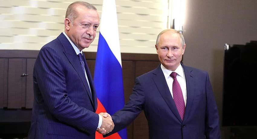 Путин договорился с Эрдогано…