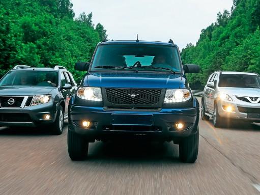 Nissan и УАЗ ответили за марафон «60 часов «За рулем»