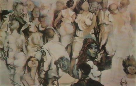 художник Ренато Гуттузо (Renato Guttuso) картины – 06