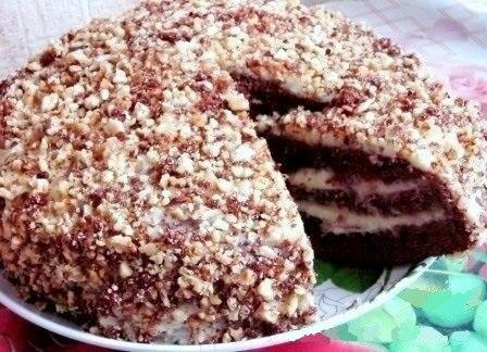«Фантастика» — шоколадный торт на кефире или простокваше