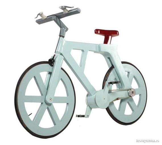 358Как сделать велосипед из картона