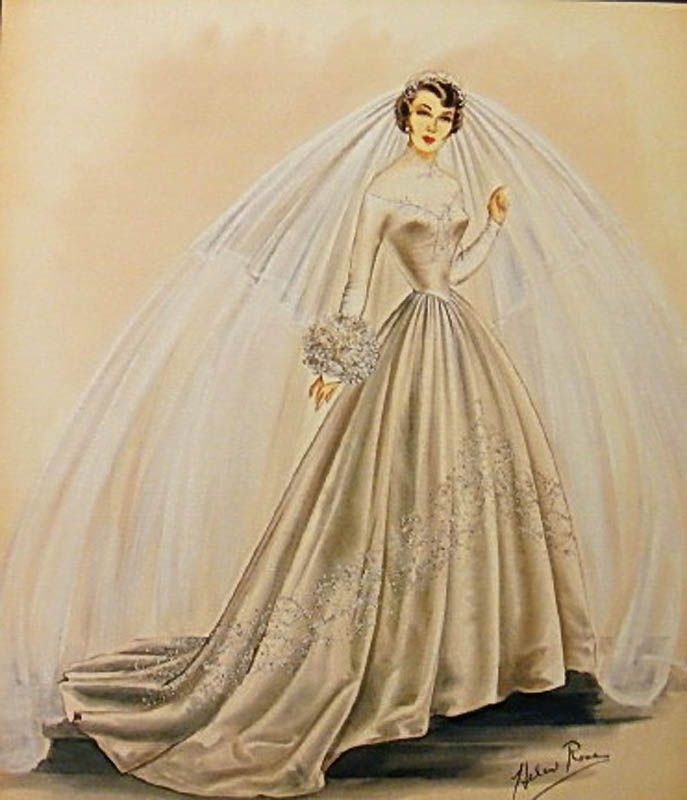 Первая свадьба Элизабет Тейлор (18 фотографий), photo:3