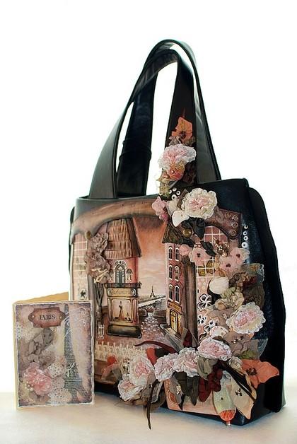 Женские сумки ручной работы. Ярмарка Мастеров - ручная работа Paris pour Eleonora. Handmade.