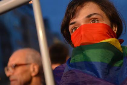 В России геям впервые разрешили провести парад