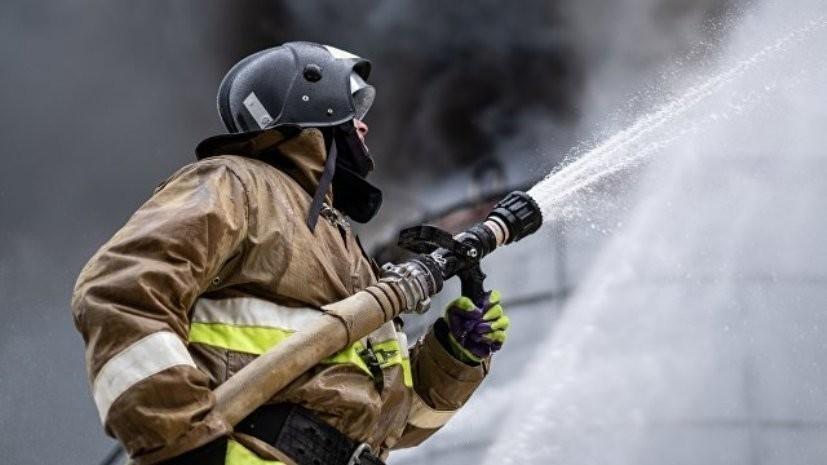 Пожар произошёл в здании шко…