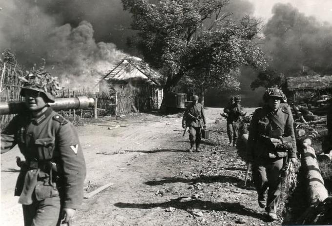 Немецкие солдаты о начале войны с СССР