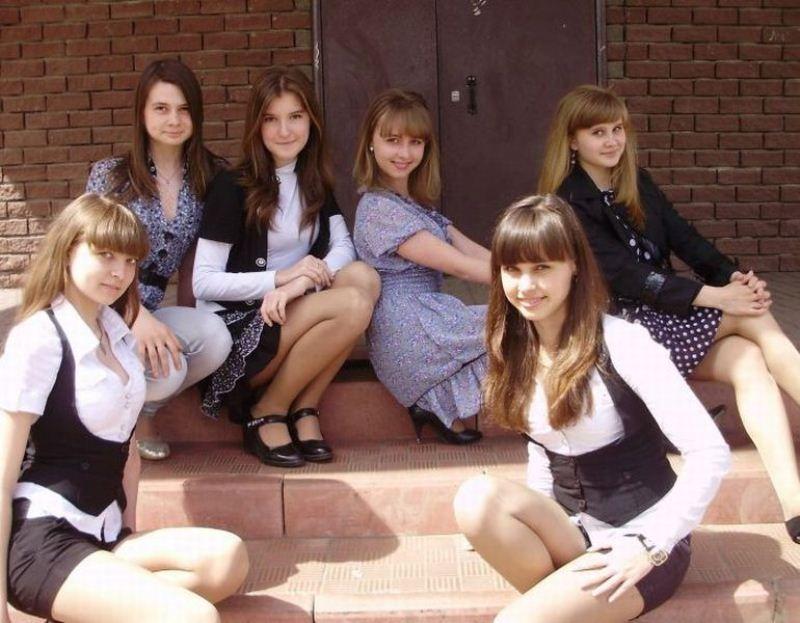 Современные школьницы (28 фото)