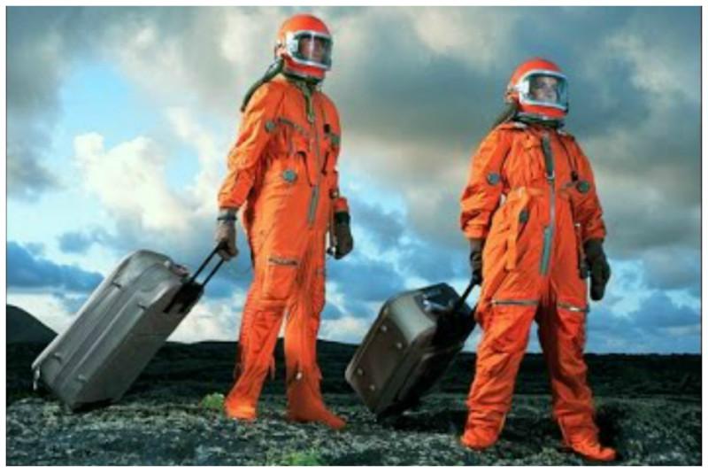 Космические туристы и жители Марса от Элона Маска интересное, космический туризм, космос