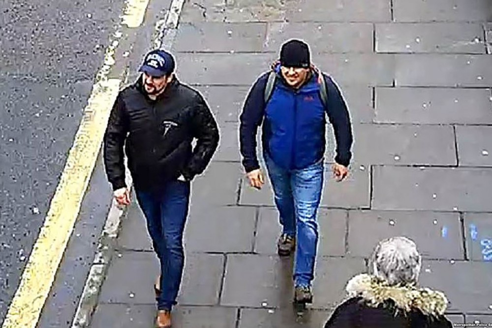 Скотленд-ярд: Скрипалей травили три Героя России