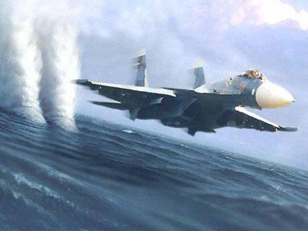 Российская морская авиация показала кораблям НАТО, что их ждет при приближении к Крыму